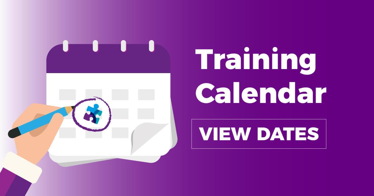 Training Calendar View Dates Solab