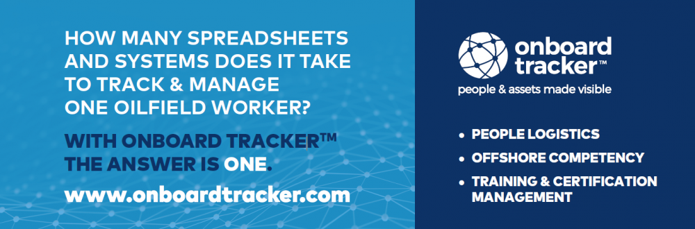 How many spreadsheets and systems does it take to track and manage one oilfield worker? One! Onboard Tracker