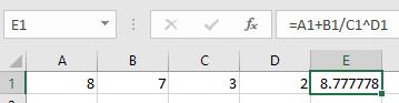 Brackets in Excel 4