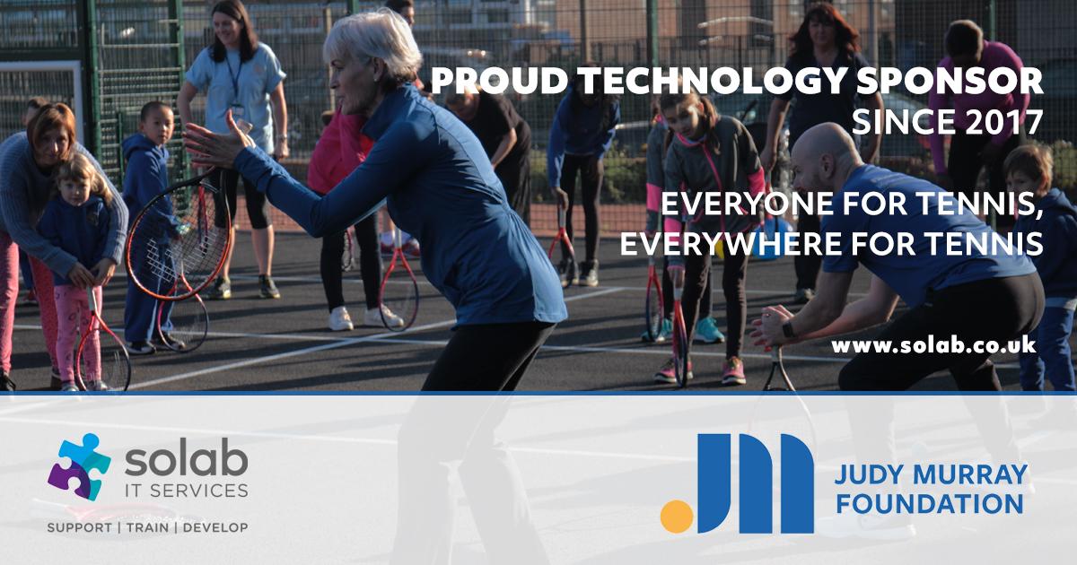 Judy murray foundation solab sponsor